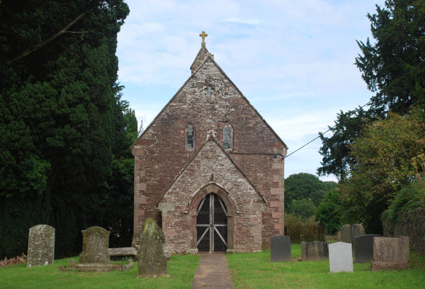 St John's church, Llangym