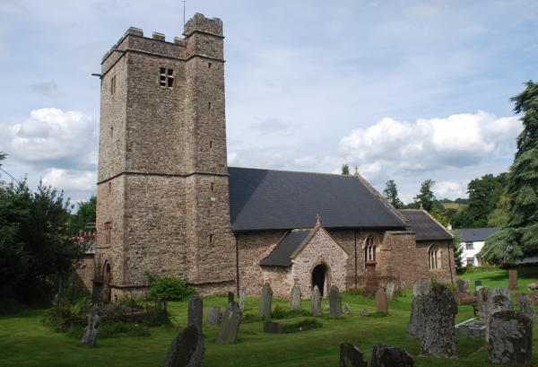 Church of SS Peter Paul and John, Llantrisant, near Usk