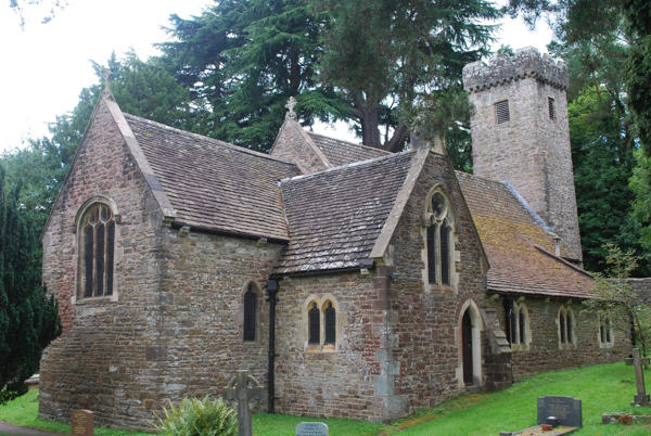 St Madoc's church, Llanbadoc near Usk