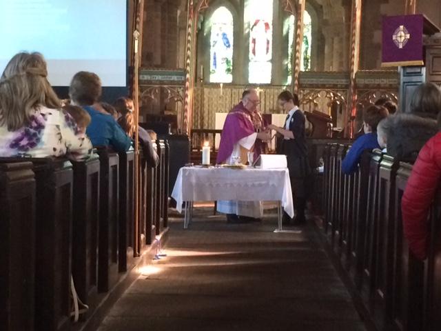 Usk CiW School Eucharist