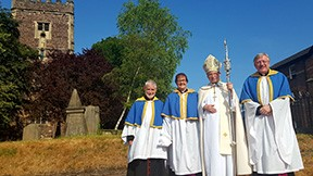Celebration of new archdeaconry and installation of new archdeacon