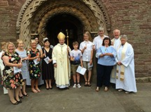Confirmation at St Mary's, Malpas