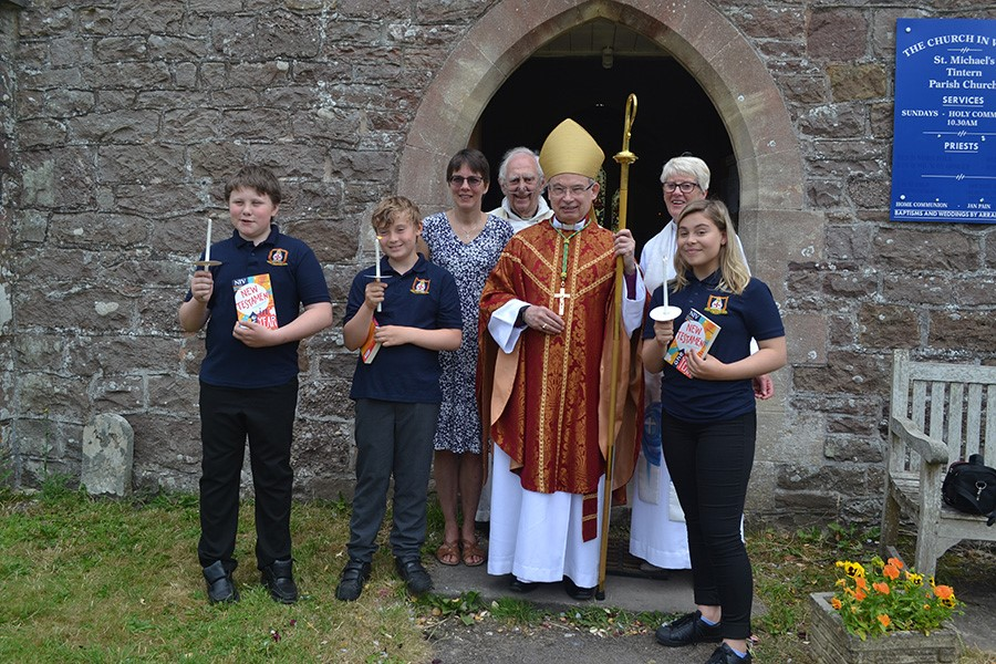 Confirmation at St Michael's, Tintern