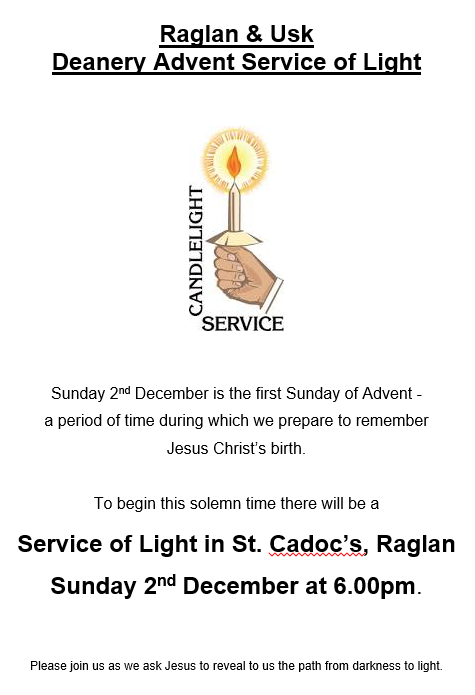 Advent – Deanery Service of Light