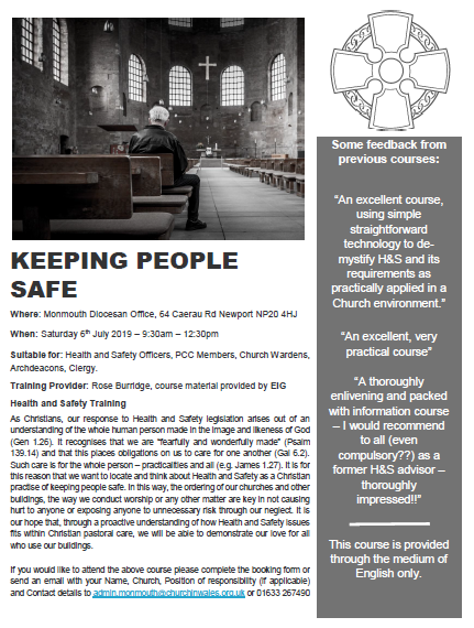 Keeping people safe – H&S Course
